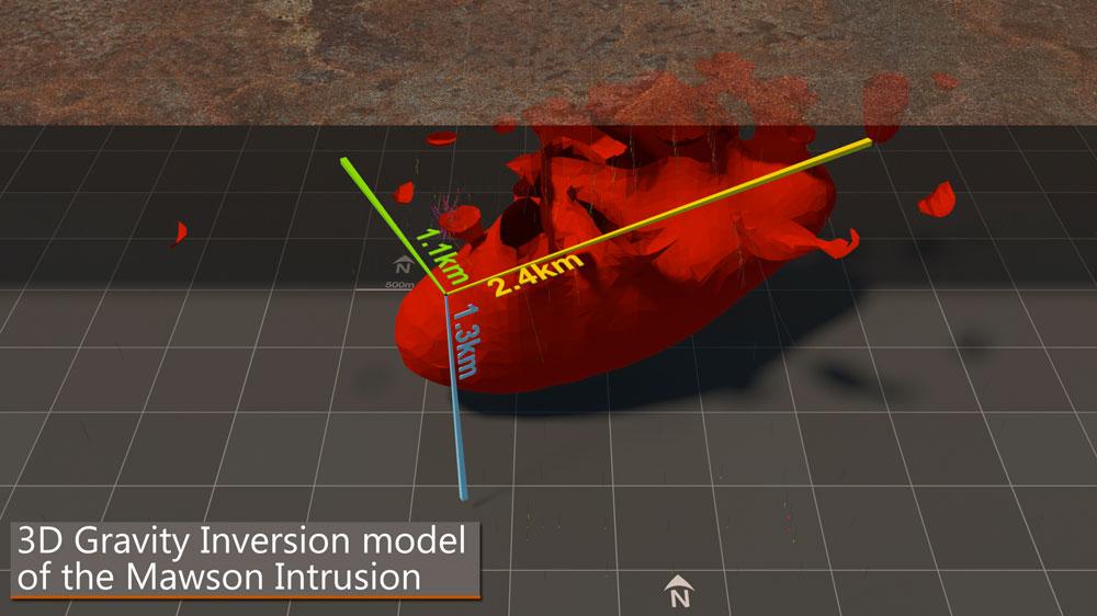 Mawson 3D model